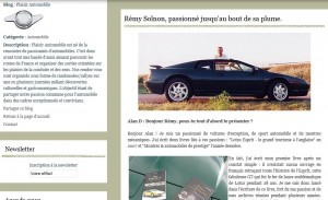 Interview sur le BLOG « Plaisir Automobile » (01/2012) dans Revue de presse Interview-PA-300x183
